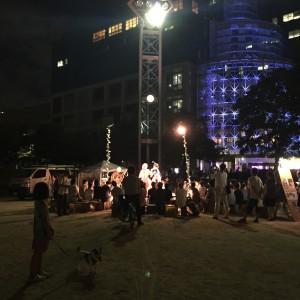 野外劇団「楽市楽座」☆扇町公園